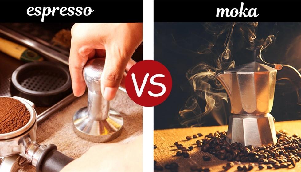 Caffeina: ce n'è di più in un caffè espresso o in un caffè di moka?